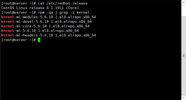 CentOS 8/7/6 安装最新内核并自动卸载多余内核