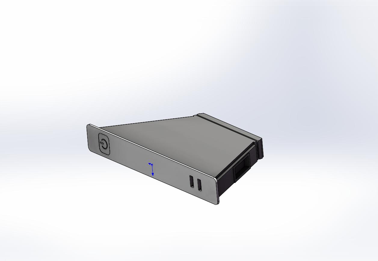 N3450 CPU无外壳锐角云自制外壳相关图纸